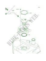 Fuel Pump per Kawasaki Brute Force 750 4x4i 2009